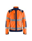 Hi-vis functional fleece